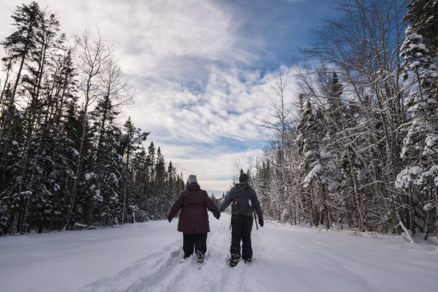 riverview winter carnival sweetheart snowshoe explore adventure event activity fundy mill creek