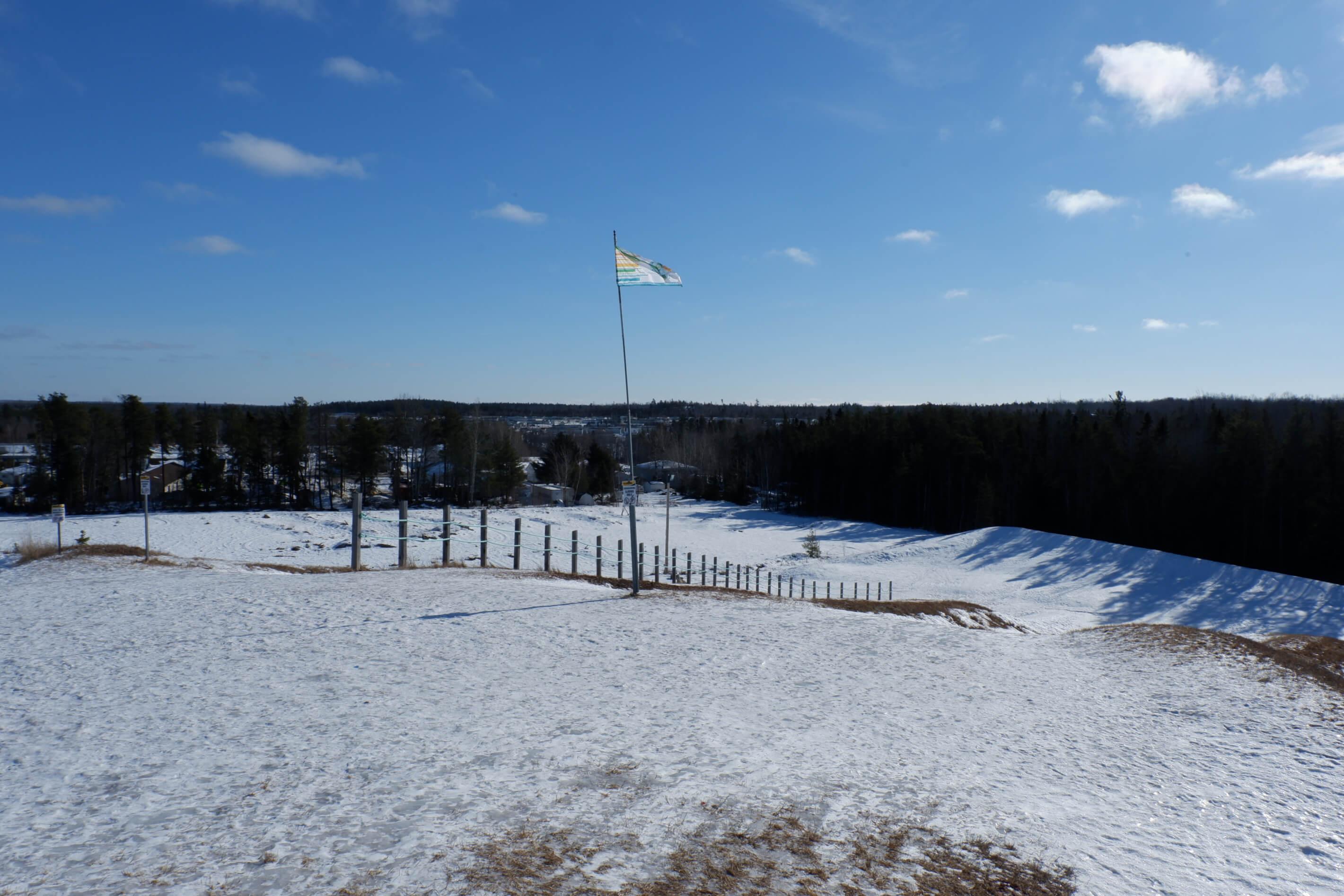 sliding hill riverview winter wonderland park