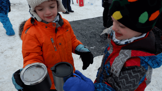 riverview winter carnival enjoying hot chocolate cheers moncton explore events fun february