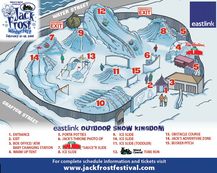 map to the jackfrost festival pei moncton what to bring do see kids winter charlottetown