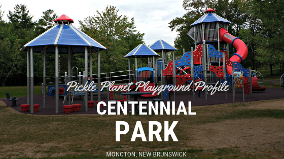 accessible playground park moncton centennial PICKLE PLANET