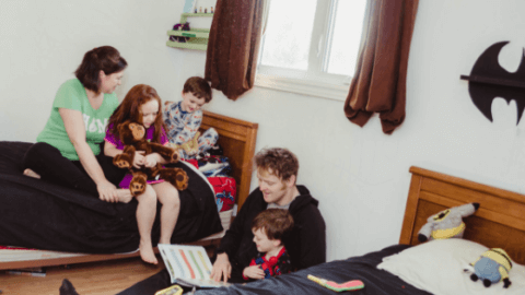 reading together family importance aloud pickle planet moncton