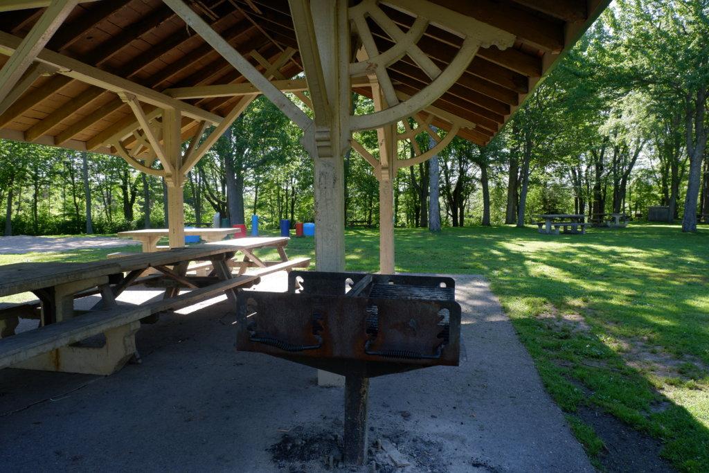 inclusive playground moncton centennial park pickle planet bbq shelter