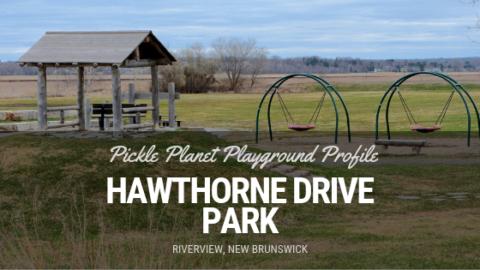 HAWTHORNE DRIVE PARK RIVERVIEW playground moncton PICKLE PLANET RIVERFRONT ACCESSIBLE NATURAL