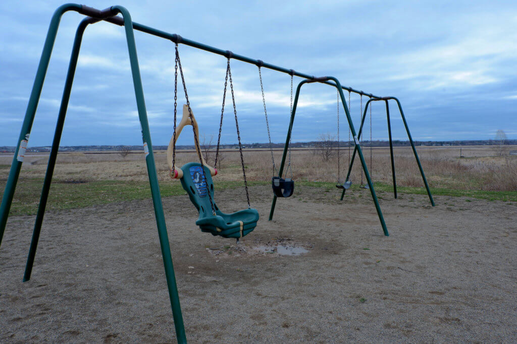 riverview hawthorne drive park playground moncton pickle planet swing set infant accessible