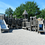 what to do with kids moncton riverview dieppe playground frank bowser wooden castle park