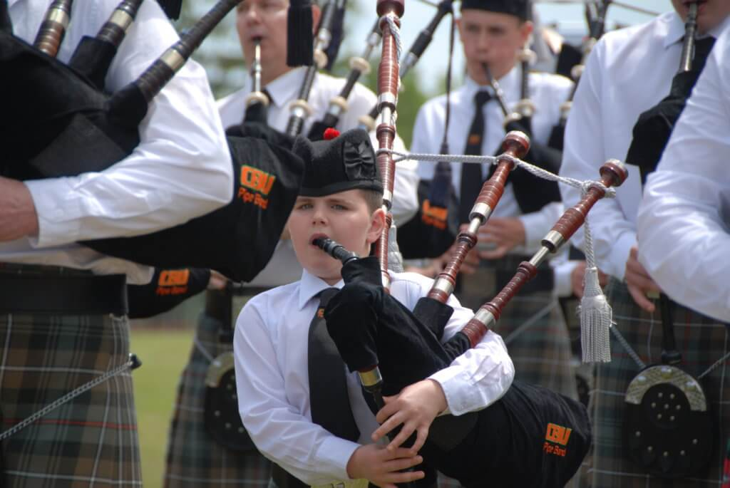 moncton highland games bagpiper pipe band youth