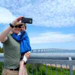 Cape Jourimain lighthouse confederation bridge weekend family fun getaway new brunswick vacation photo