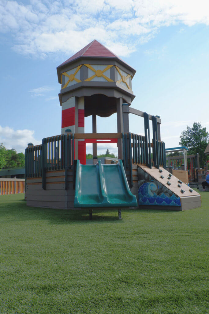 Rebecca Schofield All World Super Play Park accessible inclusive moncton riverview new brunswick dieppe best playgrounds toddler pickle planet