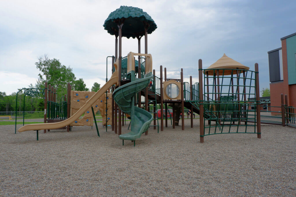riverview east playground pickle planet large structure