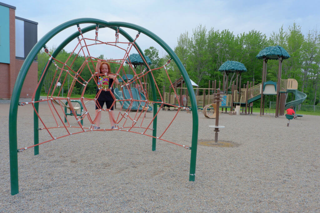 riverview east playground school moncton pickle planet climbing older kids park