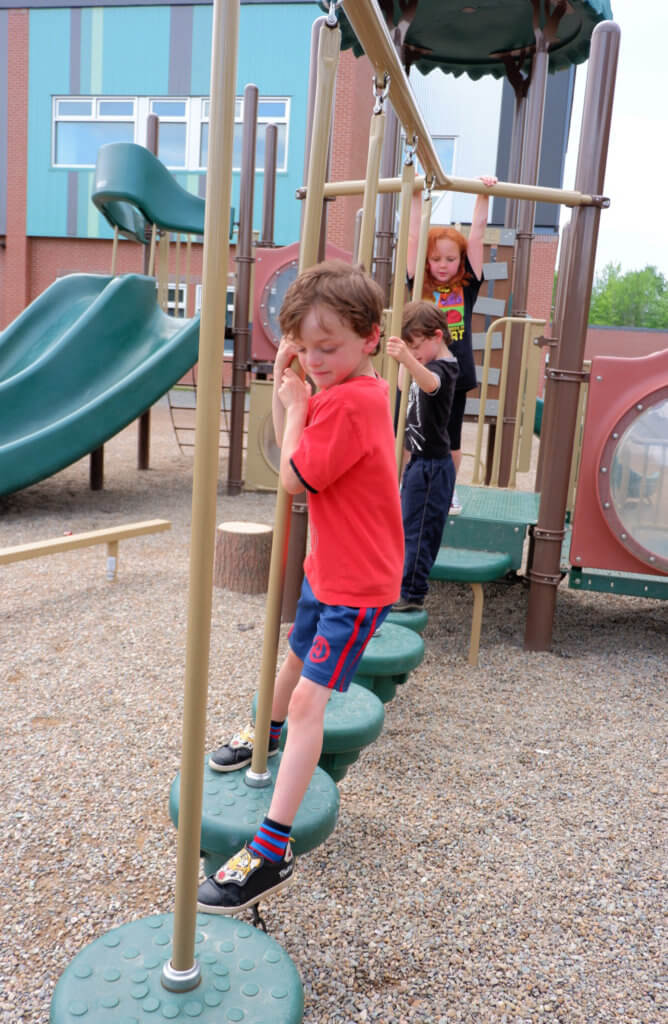 riverview east school playground pickle planet moncton climbing fun stepping