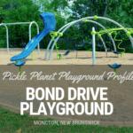 BOND DRIVE moncton PLAYGROUND PARK PICKLE PLANET