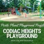 codiac heights PLAYGROUND PARK PICKLE PLANET MONCTON