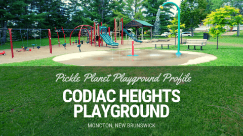codiac heights PLAYGROUND PARK PICKLE PLANET MONCTON