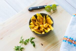 mango salsa recipe side dish summer snack healthy simple