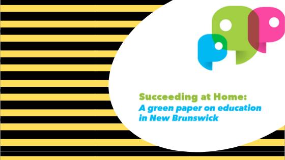 new brunswick education plan green paper
