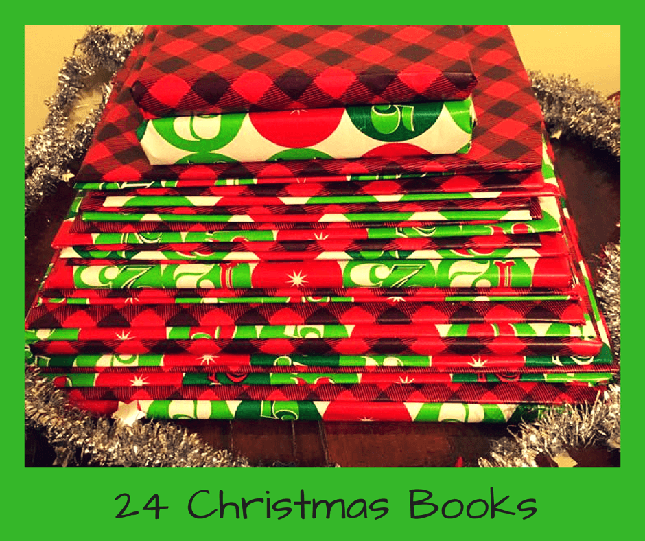 ideas for books for christmas advent countdown