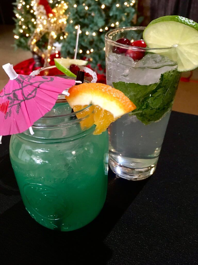 simple holiday mocktail cocktail recipe cocoa room moncton riverview pickle planet podcast