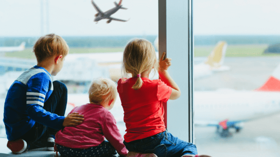 Tips for international travel with kids