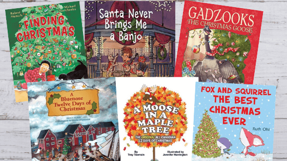 books to pick for a christmas advent countdown calendar