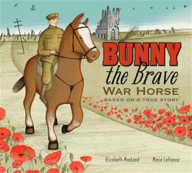 remembrance day books for young kids bunny the brave