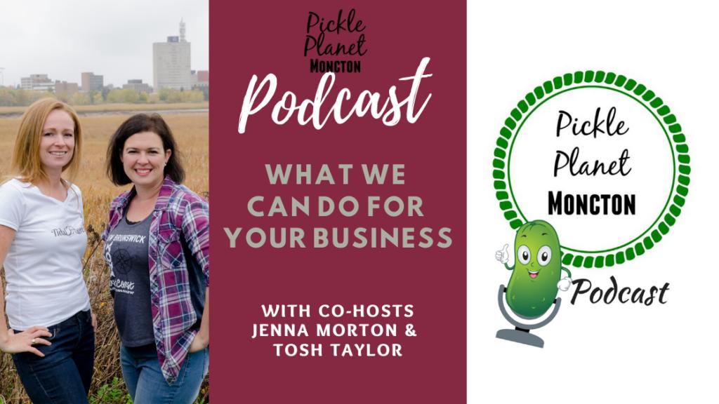 advertising moncton families kids parents middle age women podcast blog influencer pickle planet
