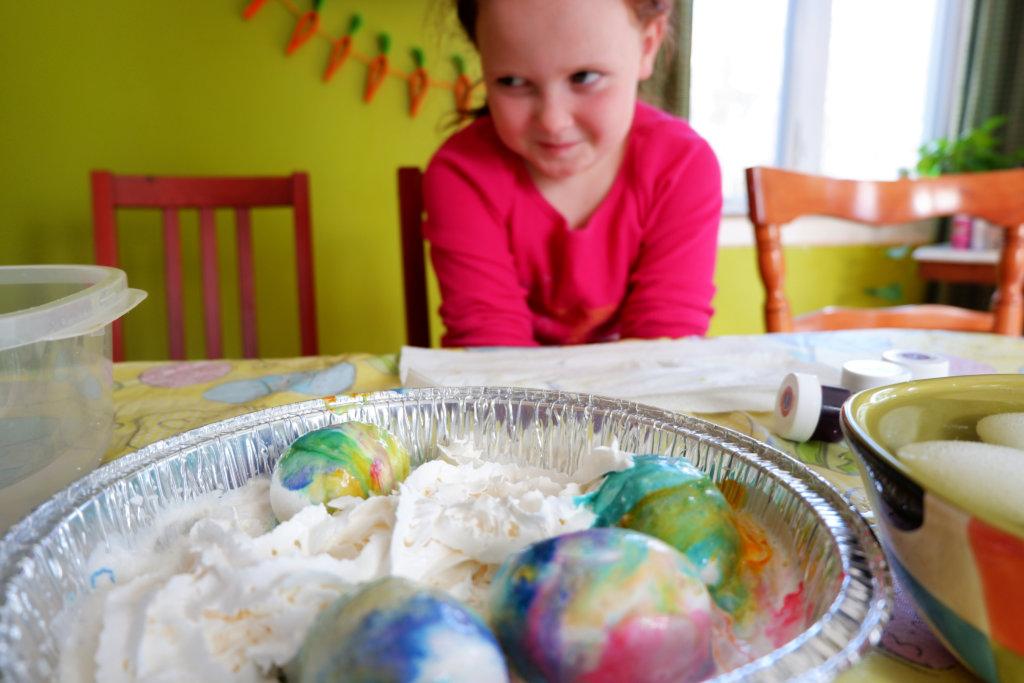 easy edible easter eggs pickle planet diy craft preschoolers kids