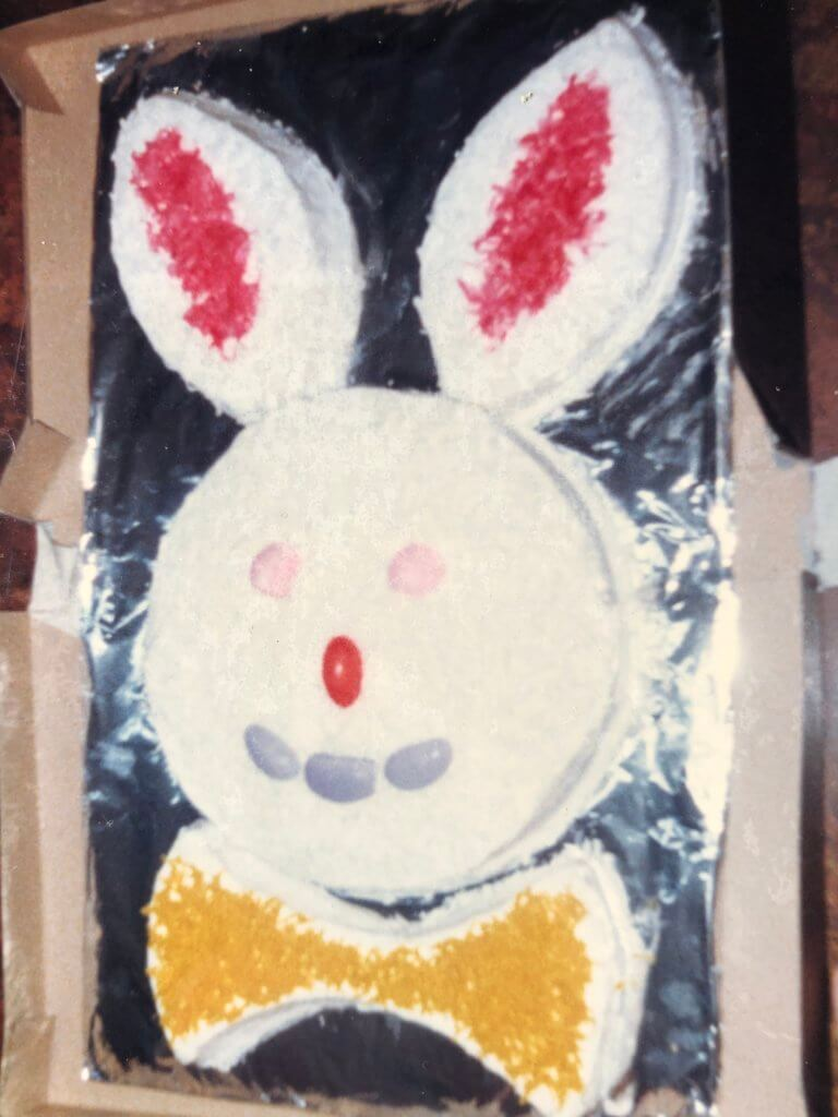 easy easter bunny cake template recipe pickle planet